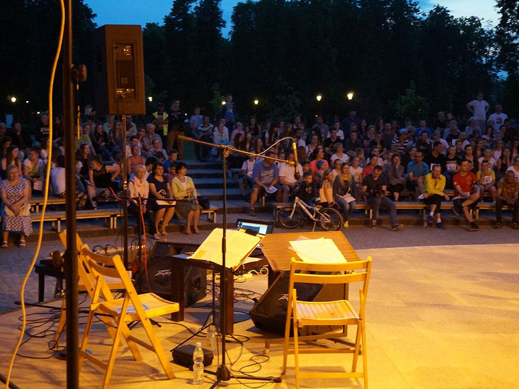 Łuków - Amfiteatr - Cyganka Aza