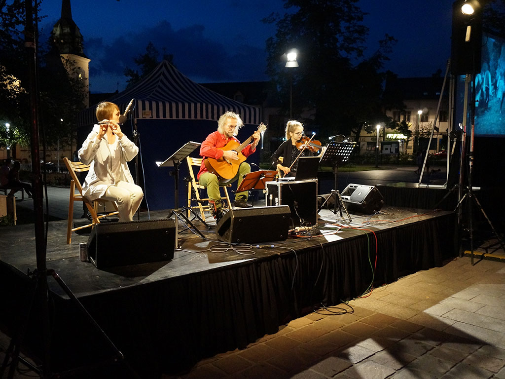 koncert na rynku w Skawinie
