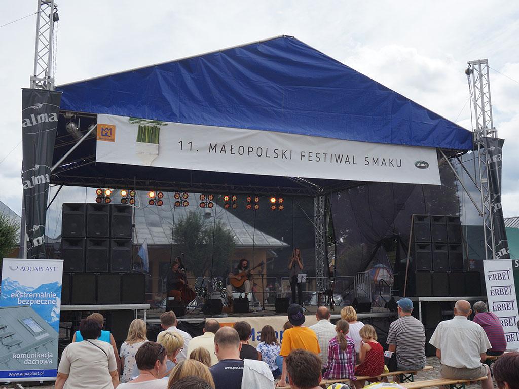 Stary Sącz - koncert folkowy