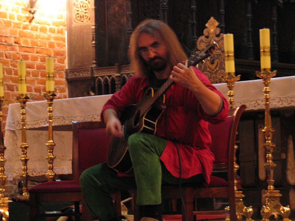 Waldemar Rychły - koncert w kościele