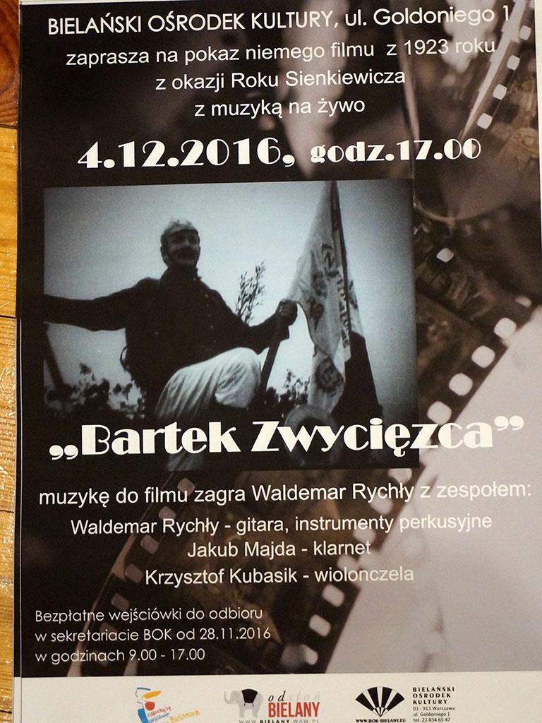 Ursynów - Bartek Zwycięzca - plakat